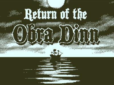 Return of the Obra Dinn: ensayo sobre la locura en alta mar