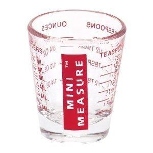 Mini vaso medidor de líquidos