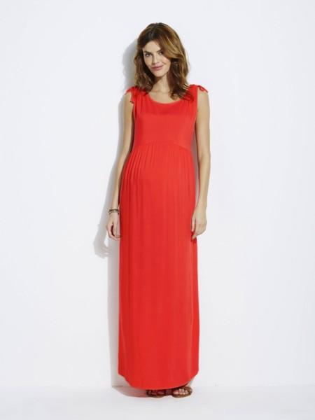 Vestido Premama Rojo