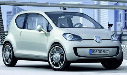 Volkswagen Up! Concept, prototipo de coche urbano de Volkswagen