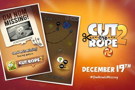 Apunta la fecha: Cut the Rope 2 llegará a iOS el 19 de diciembre