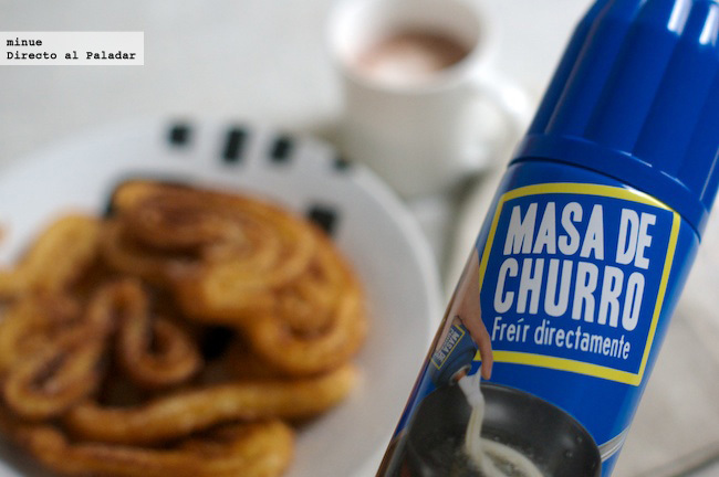 Masa de churros en spray - 1