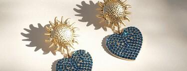 Maxi pendientes dorados capaces de convertir un look en lookazo