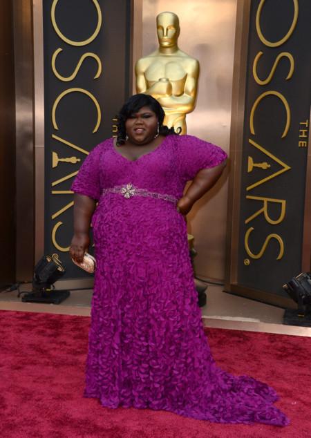 Gabourey Sidibe looks Oscar 2014