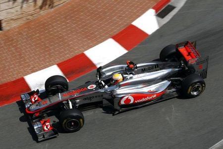 """GP de Mónaco F1 2011: Lewis Hamilton y su """"desafortunada"""" sesión de clasificación"""