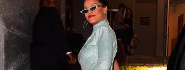 Rihanna se viene arriba y apuesta todo al glitter en la presentación de Fenty