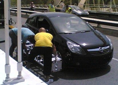 El nuevo Opel Corsa en Barcelona