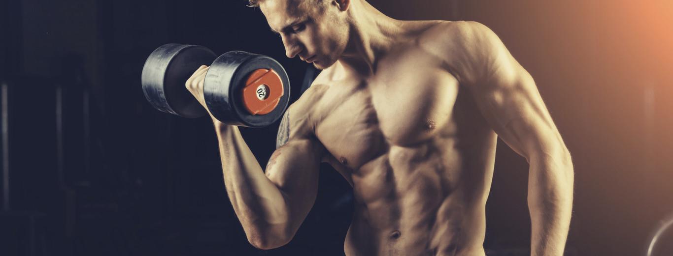 ejercicios para ganar volumen en brazos