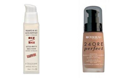 Truco de maquillaje para hombres: seborregulador junto a la base de color