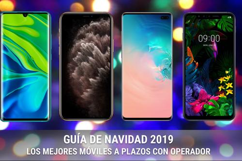 Las mejores ofertas en móviles baratos con operador en navidad 2019