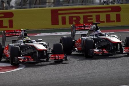 Sergio Pérez niega haberse disculpado con Jenson Button tras el Gran Premio de Baréin