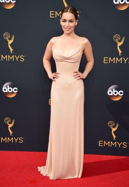 Emilia Clarke Atelier Versace