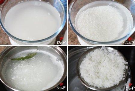 Paso paso para hacer arroz blanco