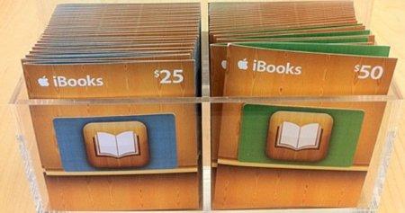 Tarjetas de regalo para la iBooks Store