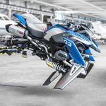 Hover Ride Design Concept, la moto que vuela es la última creación de BMW y Lego