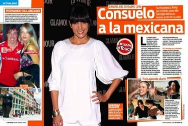 Raquel del Rosario de mariachis, nachos, tequilas y que sé yo...