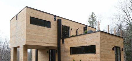 Una casa construida con tan solo cuatro contenedores, te vas a sorprender