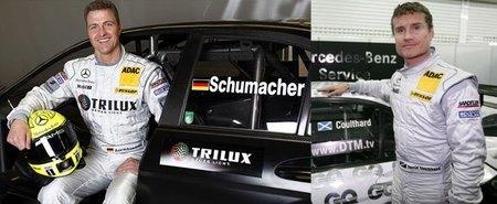 Ralf Schumacher y David Coulthard de nuevo con Mercedes en el DTM