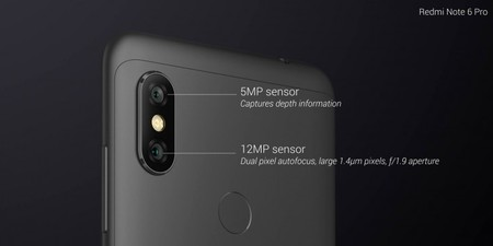 Camara Xiaomi Redmi Note 6 Pro