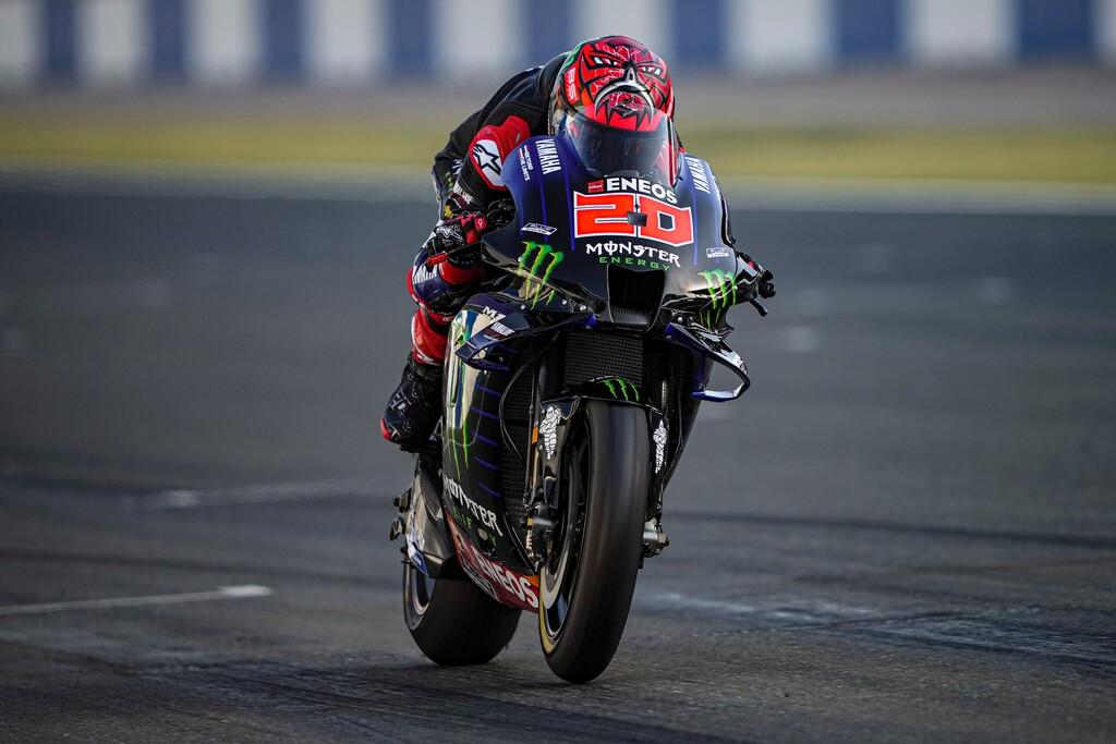 Fabio Quartararo vuela en el tercer día de pretemporada y Pol Espargaró le coge el truco a la Honda
