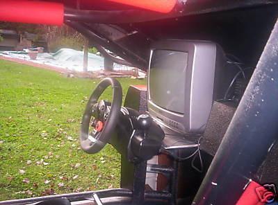 NASCAR barbacoa simulador
