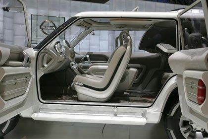 Presentación Nissan Terranaut Concept en el salón de Ginebra