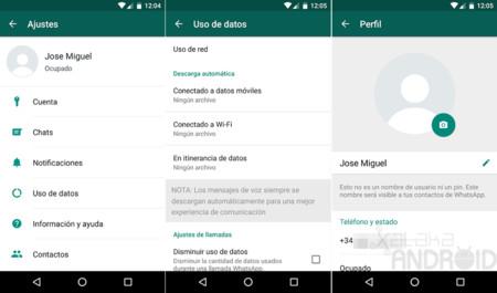 Whatsapp Nuevos Ajustes