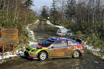Mikko Hirvonen sigue líder tras el segundo día
