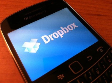 Dropbox para Blackberry 7 disponible