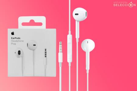 Los clásicos auriculares EarPods de 3,5 mm vuelven a estar de oferta, ahora un poco más baratos en Amazon por 11,94 euros