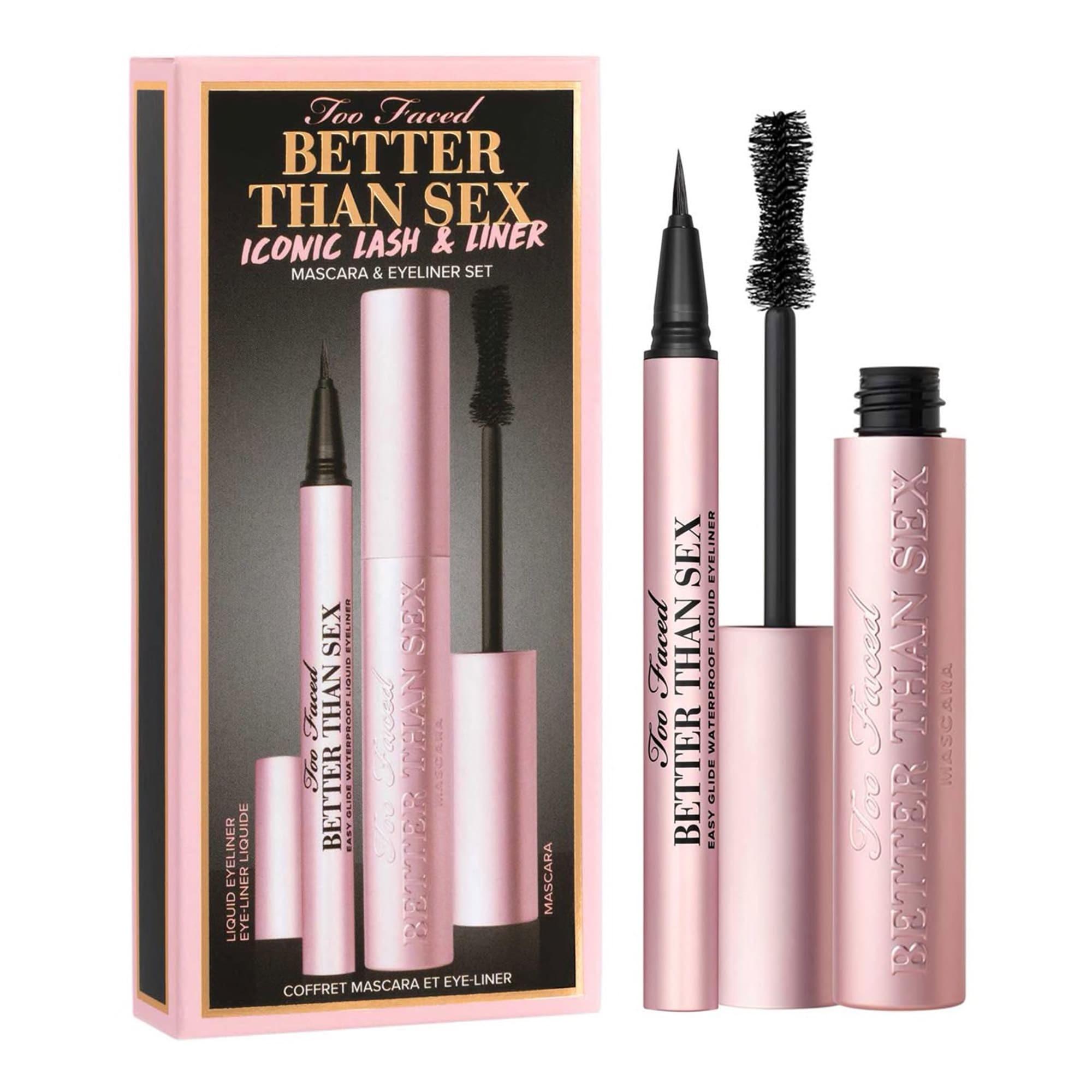 Set de maquillaje para ojos y pestañas Better than Sex de Too Faced