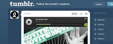 Spotify lanza botón para integrar su música en la Web