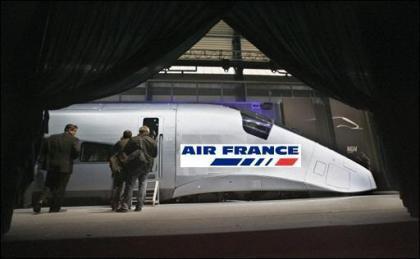 Air France quiere meterse en trenes rápidos