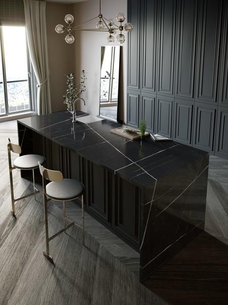 Silestone Kitchen Eternal Noir