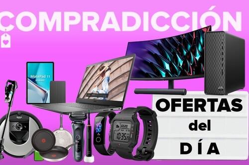 Ofertas y chollos del día en Amazon: portátiles Dell, monitores y tablets Huawei, relojes Amazfit o cuidado personal Philips y Braun a precios rebajados