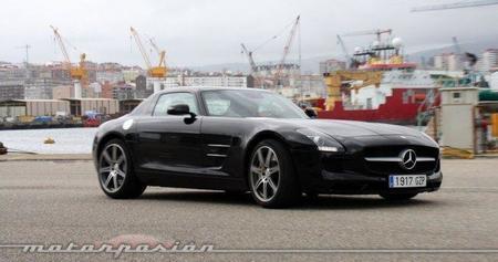 Mercedes SLS AMG, prueba en carretera con video (parte 4)
