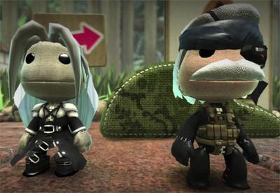 'LittleBigPlanet': Llegan los sackboys de Solid Snake y Sephiroth