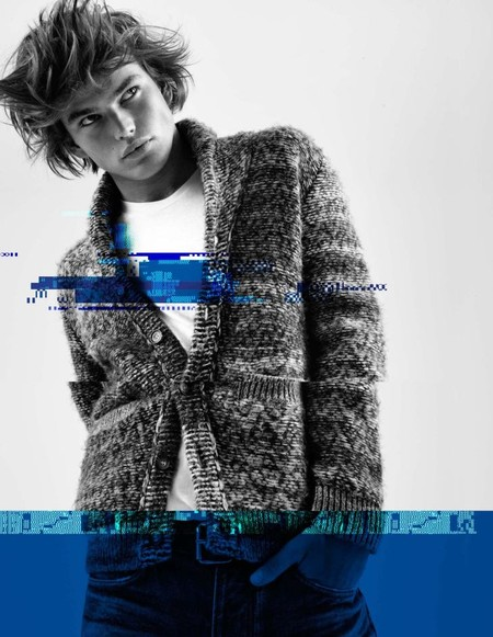 Jordan Barrett Pepe Jeans Fall Winter 2016 Campaign 006