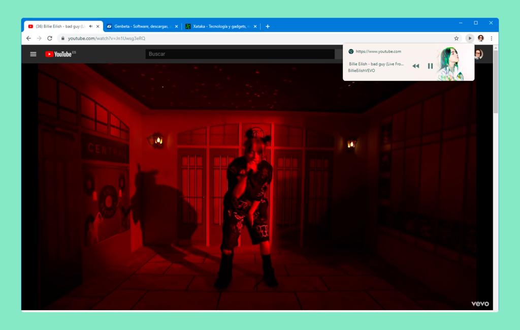 Cómo activar los nuevos controles multimedia globales de Chrome para pausar la reproducción de contenido desde cualquier pestaña