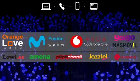 Así quedan las mejores ofertas con fibra + móvil comparadas con las nuevas tarifas de Jazztel