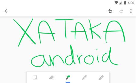 Google Keep para Android te permite dibujar en notas más largas, te explicamos cómo