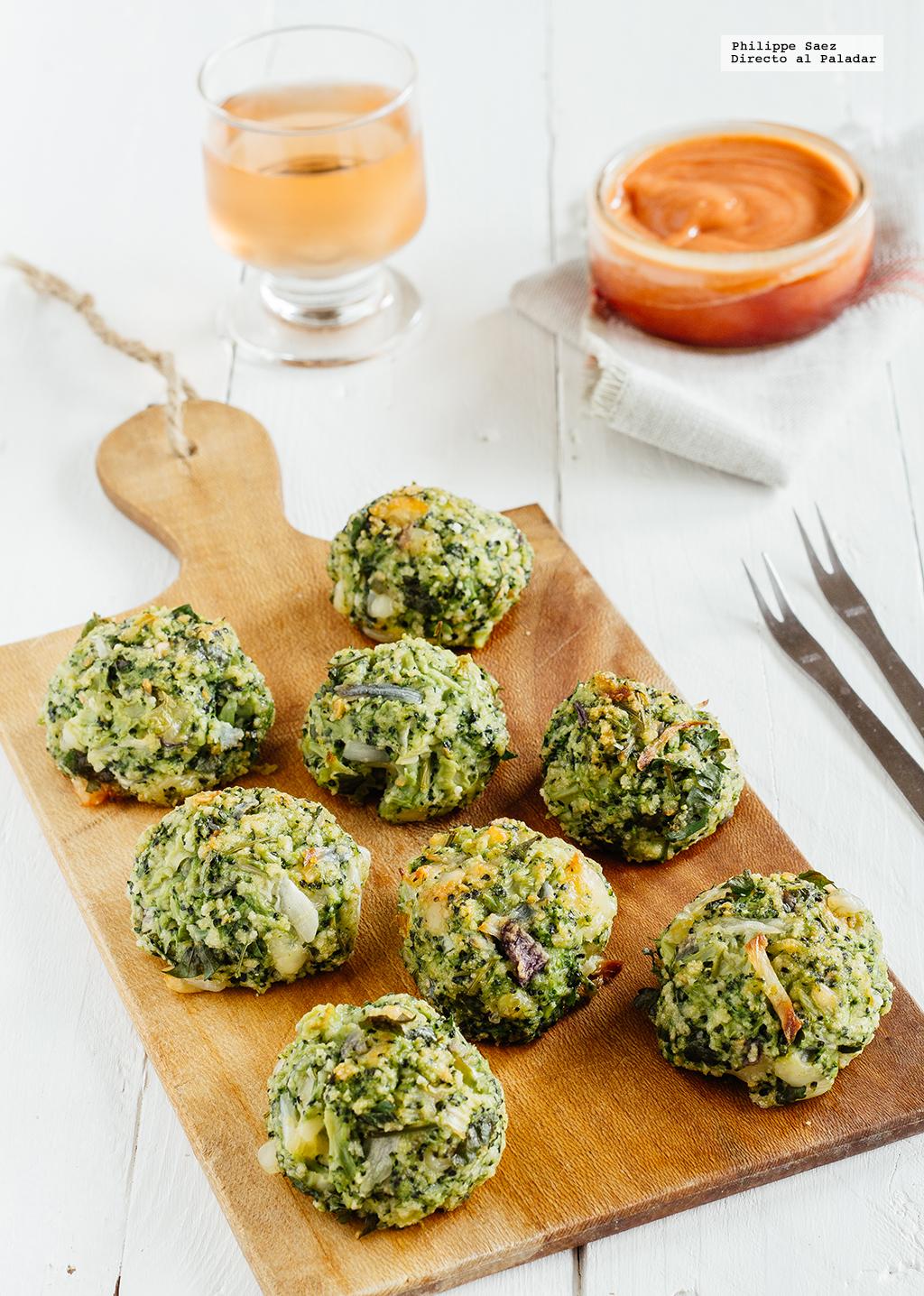 Alb ndigas de br coli receta vegetariana - Comida vegetariana facil de preparar ...