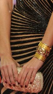 Las manicuras y Nail Art de los Goyas 2013