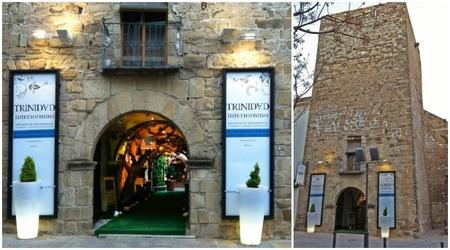 Hemos visto ...  la tienda de Trinidad Interiorismo, en un torreón árabe del siglo XIII