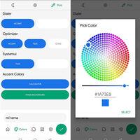 Android 12 tendría temas para personalizar los colores de la interfaz en las aplicaciones