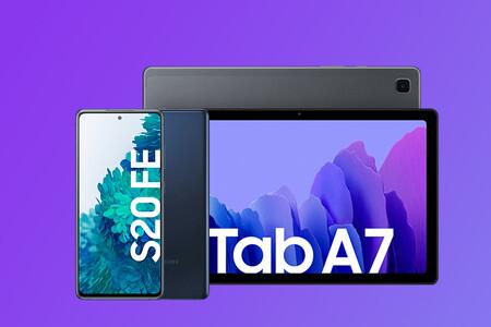Samsung Galaxy S20 FE por 559 euros con la tablet Galaxy Tab A7 de regalo en Amazon: ahorra 200 euros con este chollo pack