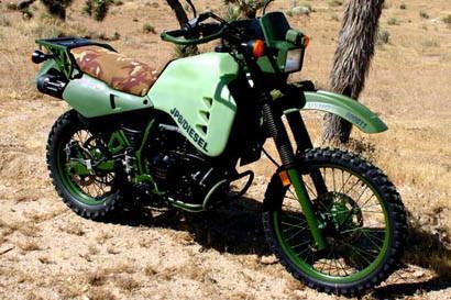 HDT USA, motos diesel