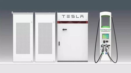 Los cargadores de Volkswagen para coches eléctricos usarán baterías Tesla en Estados Unidos