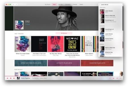 Nuevo rediseño de iTunes para Mac en la WWDC y el adiós a las descargas de canciones
