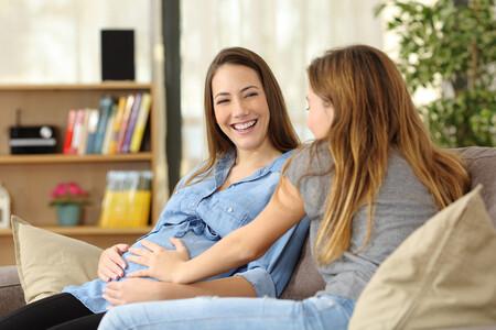 Embarazo Amiga Hermana